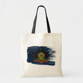 Pennsylvania Flag Canvas Bags
