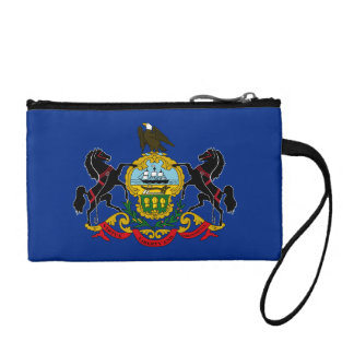 Pennsylvania Flag Change Purse