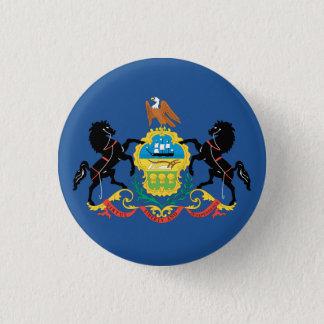 PENNSYLVANIA Flag Design - Button