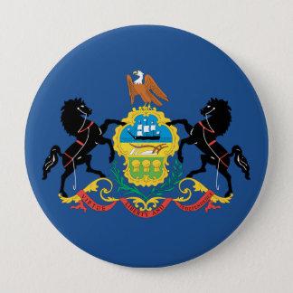 PENNSYLVANIA Flag Design - Pinback Button