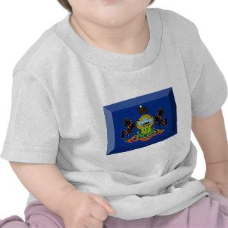 Pennsylvania Flag Gem Tshirts
