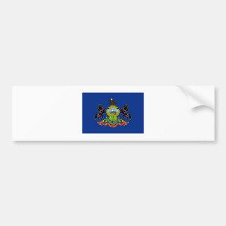 Pennsylvania FLAG International Bumper Sticker
