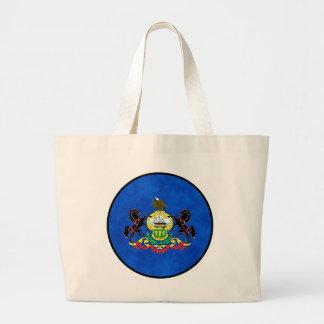 PENNSYLVANIA FLAG LARGE TOTE BAG