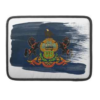 Pennsylvania Flag MacBook Pro Sleeve