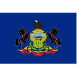 Pennsylvania Flag Magnet Cut Out