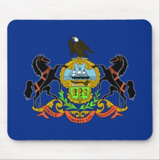 Pennsylvania Flag Mousepad mousepad