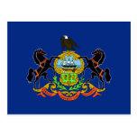 Pennsylvania Flag Post Card