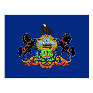 Pennsylvania Flag Postcard
