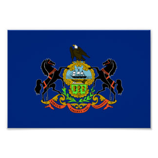 Pennsylvania Flag Poster