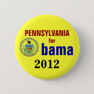 Pennsylvania for Obama 2012 Pinback Button