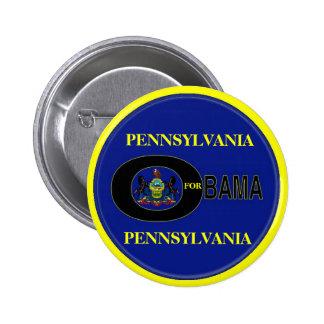 PENNSYLVANIA FOR OBAMA Button