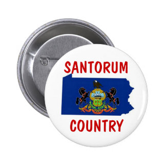 Pennsylvania for Santorum Pinback Button