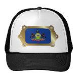 Pennsylvania framed Flag Hat