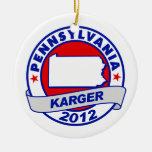 Pennsylvania Fred Karger Ornament