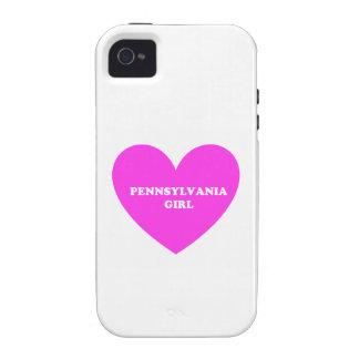 pennsylvania girl iPhone 4 cases