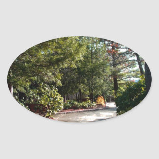 Pennsylvania Grand Canyon Oval Sticker