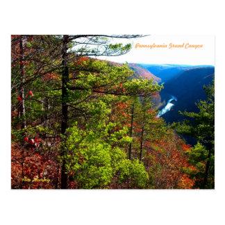 Pennsylvania Grand Canyon Postcard