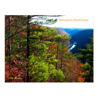 Pennsylvania Grand Canyon Postcard