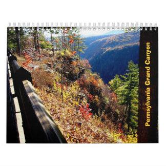 Pennsylvania Grand Canyon Wall Calendar