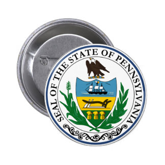Pennsylvania Great Seal 2 Inch Round Button