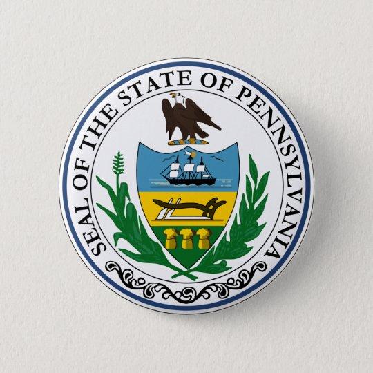 Pennsylvania Great Seal Button