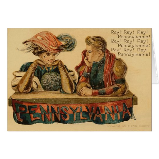 Pennsylvania Greetings Card