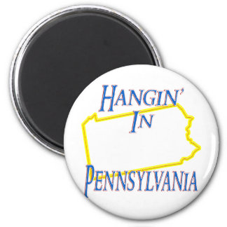 Pennsylvania - Hangin' Fridge Magnet