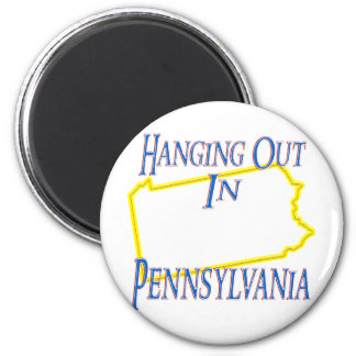 Pennsylvania - Hanging Out Refrigerator Magnet