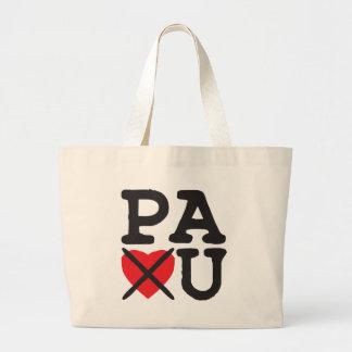 Pennsylvania Hates You Large Tote Bag