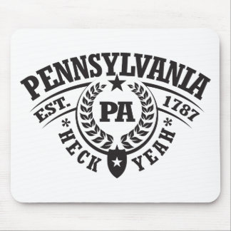 Pennsylvania, Heck Yeah, Est. 1787 Mouse Pad