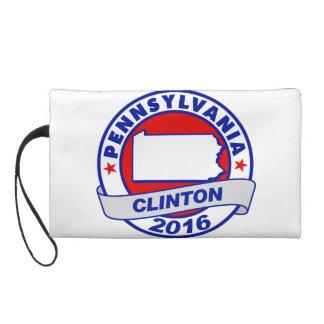 pennsylvania Hillary Clinton 2016.png Wristlet Purse