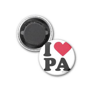 "PENNSYLVANIA - ""I LOVE PA"" ""I LOVE PENNSYLVANIA""  FRIDGE MAGNET"
