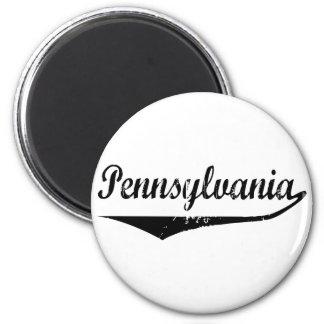 Pennsylvania Imán Redondo 5 Cm