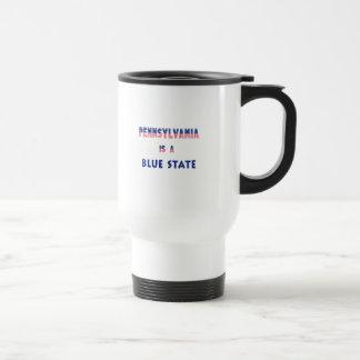 Pennsylvania is a Blue State Travel Mug