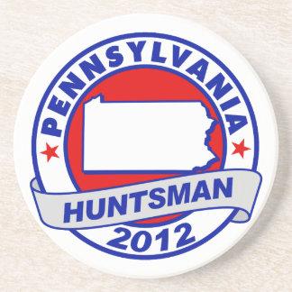Pennsylvania Jon Huntsman Drink Coaster