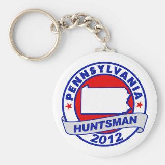 Pennsylvania Jon Huntsman Keychain