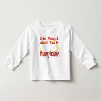 Pennsylvania - Kickin' Butt Toddler T-shirt