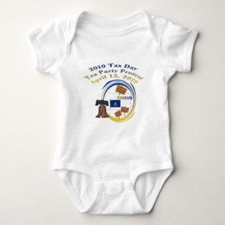 Pennsylvania Liberty Bell Tea Party Baby Shirt