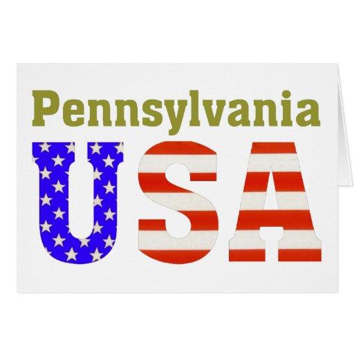 ¡Pennsylvania los E.E.U.U.! Felicitaciones