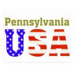 ¡Pennsylvania los E.E.U.U.! Postal