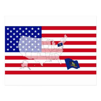 Pennsylvania, los E.E.U.U. Postal