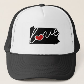 Pennsylvania Love!  Gifts for PA Lovers Trucker Hat
