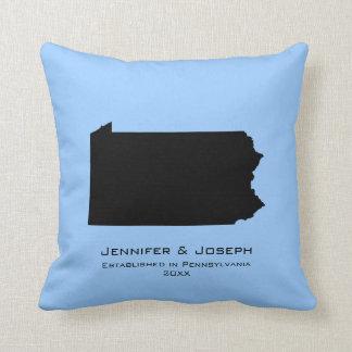 Pennsylvania Love Throw Pillows