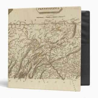 Pennsylvania Map by Arrowsmith Vinyl Binders
