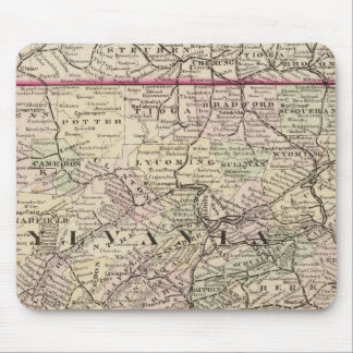 Pennsylvania, Maryland, New Jersey, Delaware Mouse Pad