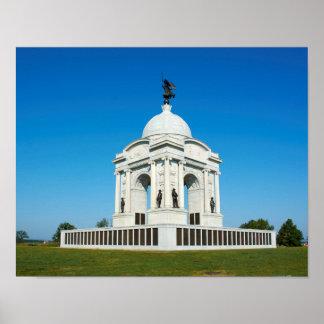 Pennsylvania Memorial - Gettysburg National Park Poster