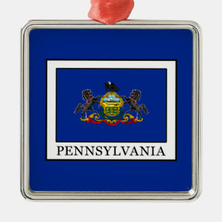 Pennsylvania Metal Ornament
