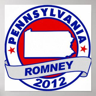 Pennsylvania Mitt Romney Impresiones