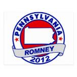 Pennsylvania Mitt Romney Postcard