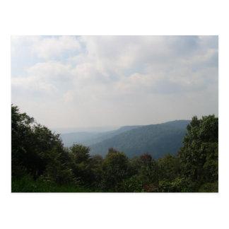 Pennsylvania Mountains Postcard